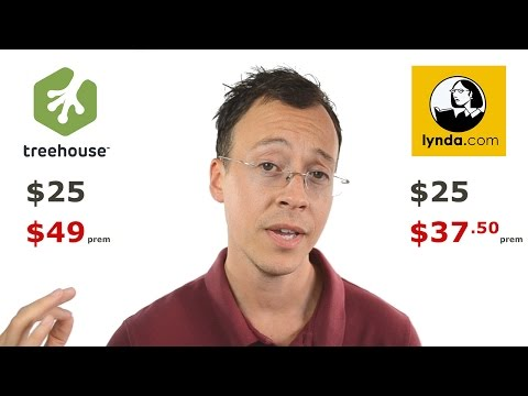 Team tree house vs lynda, are they even worth it?