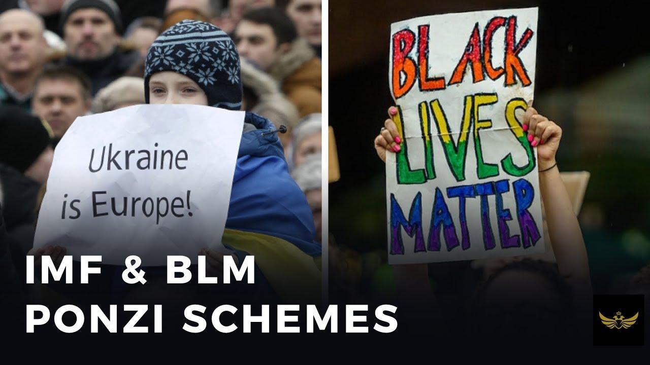 IMF PONZI scheme in Ukraine continues. BLM Ponzi scheme boomerang (Before the video)