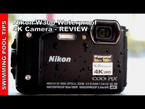 Nikon W300 4K Waterproof  Camera w/ LCD 3