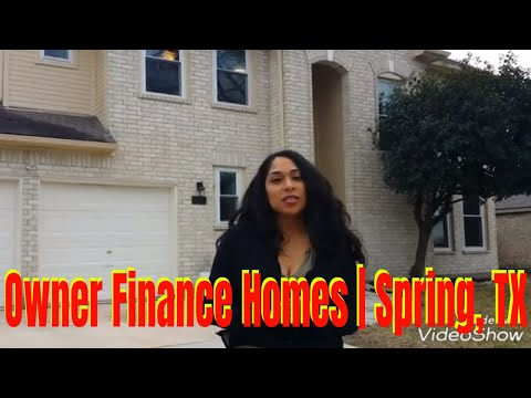Houston TX Homes For Sale | Spring, TX | Owner Finance | Rent-To-Own | Lease Option