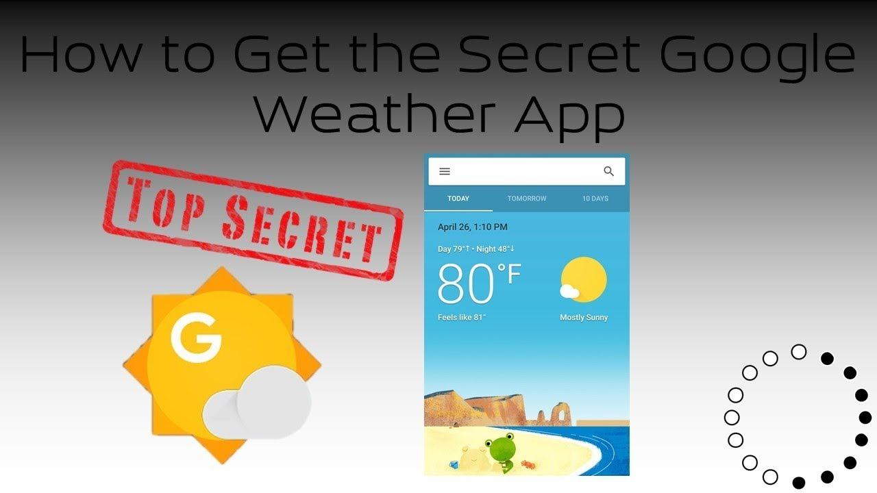 Top Best Google Weather App for Android Phone With Frog No Ads