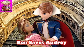 Vampire Ben Saves Audrey - Part 5 - Vampires Moana Descendants Disney