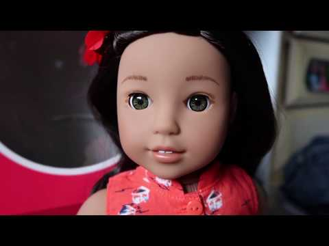 *Review* American Girl Doll Nanea Mitchell!