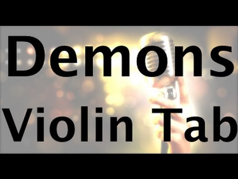 Learn Demons on Violin - How to Play Tutorial