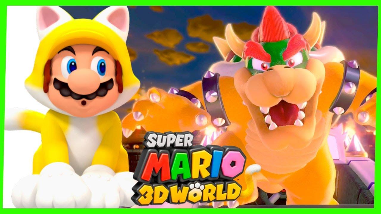 Super Mario 3D World #2 Gameplay Wii U