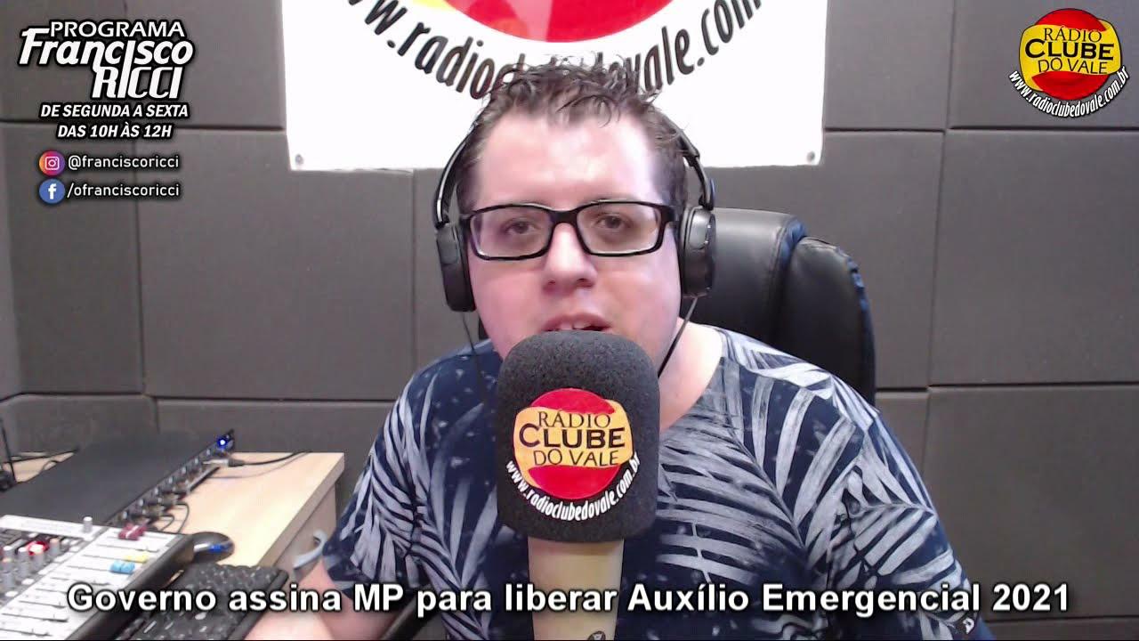Governo assina MP para liberar Auxílio Emergencial 2021