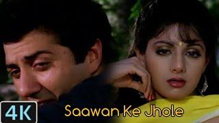 (Saawan Ke Jhoolon Ne)( Sunny Deol-Sridevi-Anupam Khe-Harmesh-Malhotra) Khel  Wohi Phir Aaj Tu Khela