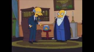 The Simpsons: Mr. Burns Political Advert thumbnail