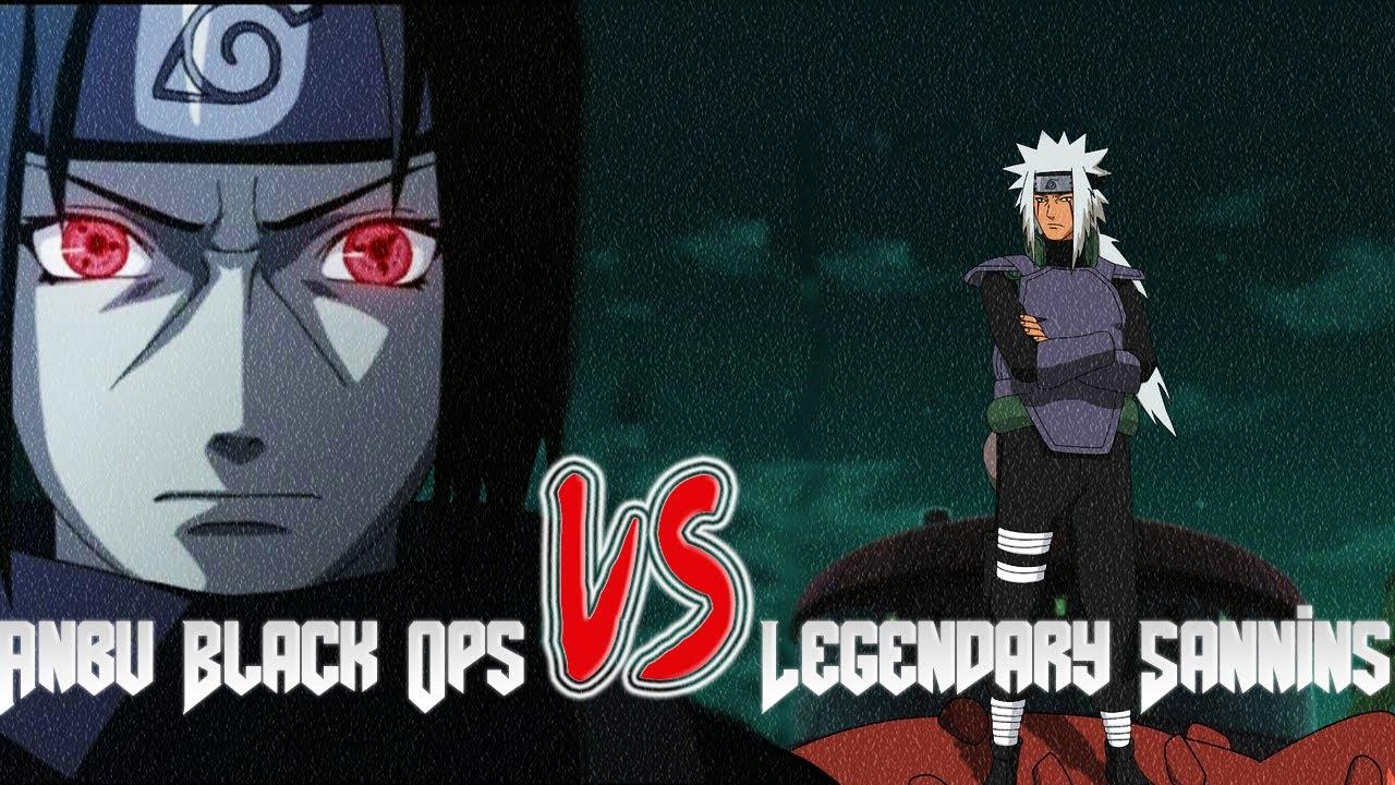 naruto storm 3 legendary sannins vs anbu black ops