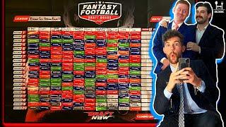 ETGD Round XII: Live 2020 Fantasy Football Draft Party Vlog