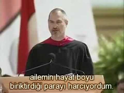 Steve Jobs - Aç Kal Budala Kal 1. Bölüm (Stanford konuşması)