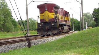 GE C36-7 ТЕПЛОВОЗ / GE C36-7 Diesel-Electric Locomotive / GE C36-7  diiselvedur