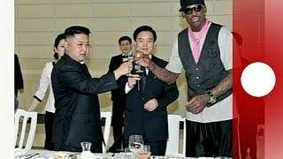 Dennis Rodman indigna a EE.UU. con su felicitación a Kim Jong-un.