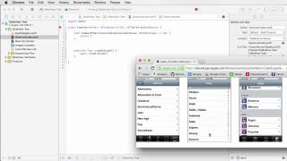 IOS Development with Swift Tutorial - 20 - Table Views