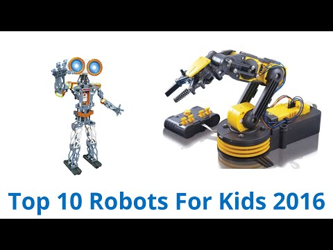 10 Best Robots For Kids 2016