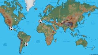 Soccer In Hispanic Countries  Read Desc.