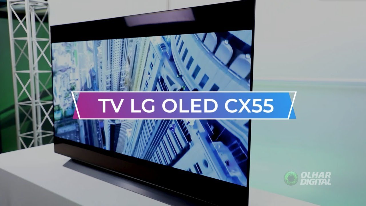 Testamos a Smart TV LG CX55: venha saber o que achamos