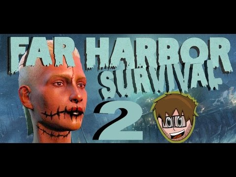 Fallout 4 Roleplay Survival Far Harbor: Nuka World Raider Build:  Longfellow 2