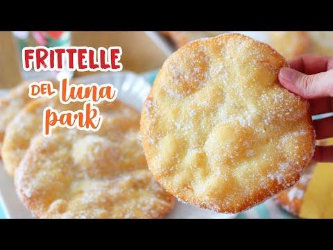 FRITTELLE SOFFICI DEL LUNA PARK - Ricetta Facile - Fritters Recipe
