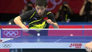 zhang jike olympic 2012 backhand flick special offical no1