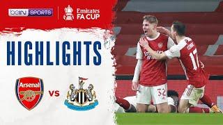 อาร์เซน่อล 2-0 นิวคาสเซิ่ล | เอฟเอ คัพ ไฮไลต์ FA Cup 20/21