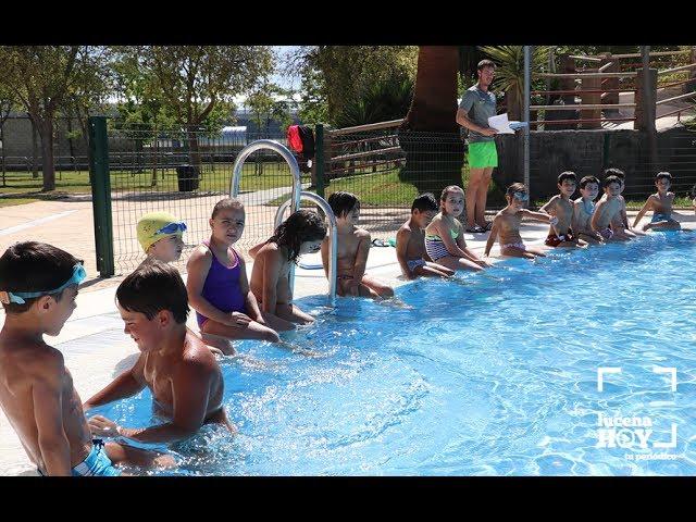 VÍDEO: Gran acogida a los cursos de Natación en las Piscinas de Verano