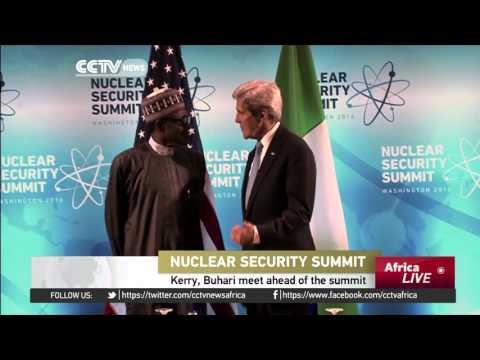 Kerry, Buhari meet ahead of Nuclear Security Summit