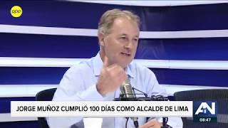 """Jorge Muñoz: """"La ampliación de 10.2 km del Metropolitano es una necesidad"""""""
