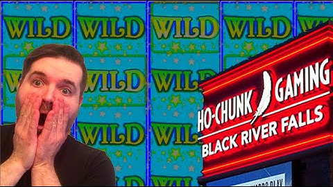 💥😺💥 MAJOR JACKPOT! 💥😺💥 I WON MASSIVELY On My First Visit To Ho Chuck In Black River Falls!