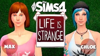Los Sims 4: Life is Strange | MAX & CHLOE | CAS + Download