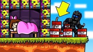 Minecraft: EXPLOSIVE BLOCKCEPTION LUCKY BLOCK BEDWARS! - Modded Mini-Game