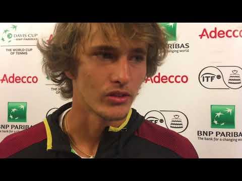 Davis Cup-Vorschau: Alexander Zverev im Interview