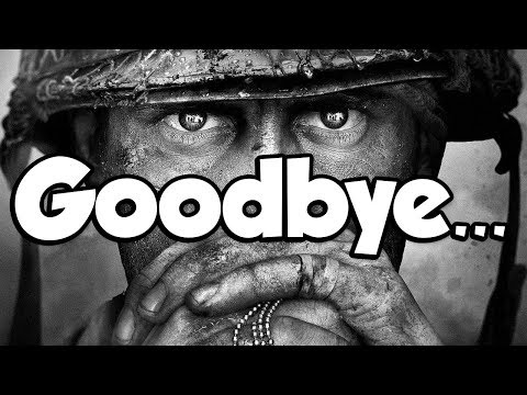Goodbye, Call of Duty WW2...