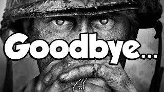 Goodbye, Call of Duty WW2...