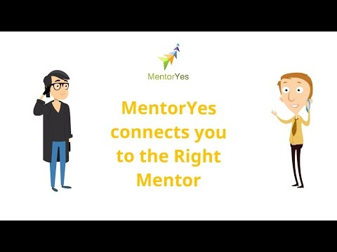 MentorYes enables access to the Right Mentors to help achieve Career and Study Aspirations