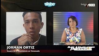 ¡CLARO Y RAPAO! JOVEN DE LA RESISTENCIA SE LAS CANTÓ A CARLOS OCARIZ