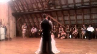 first dance, joel singing