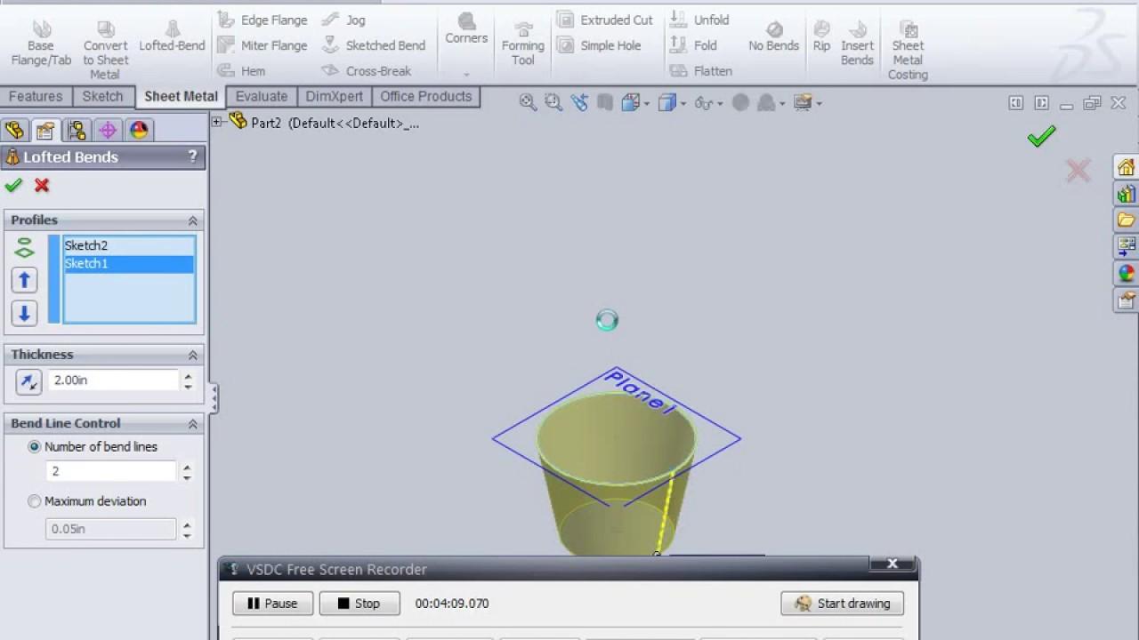 Sheet Metal Cone Metal Cone Sheet Metal Layout Cone Youtube