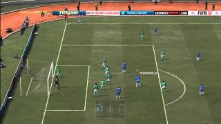 FIFA 12: GOAL DIRECTLY FROM A CORNER! MUST WATCH! Thumbnail