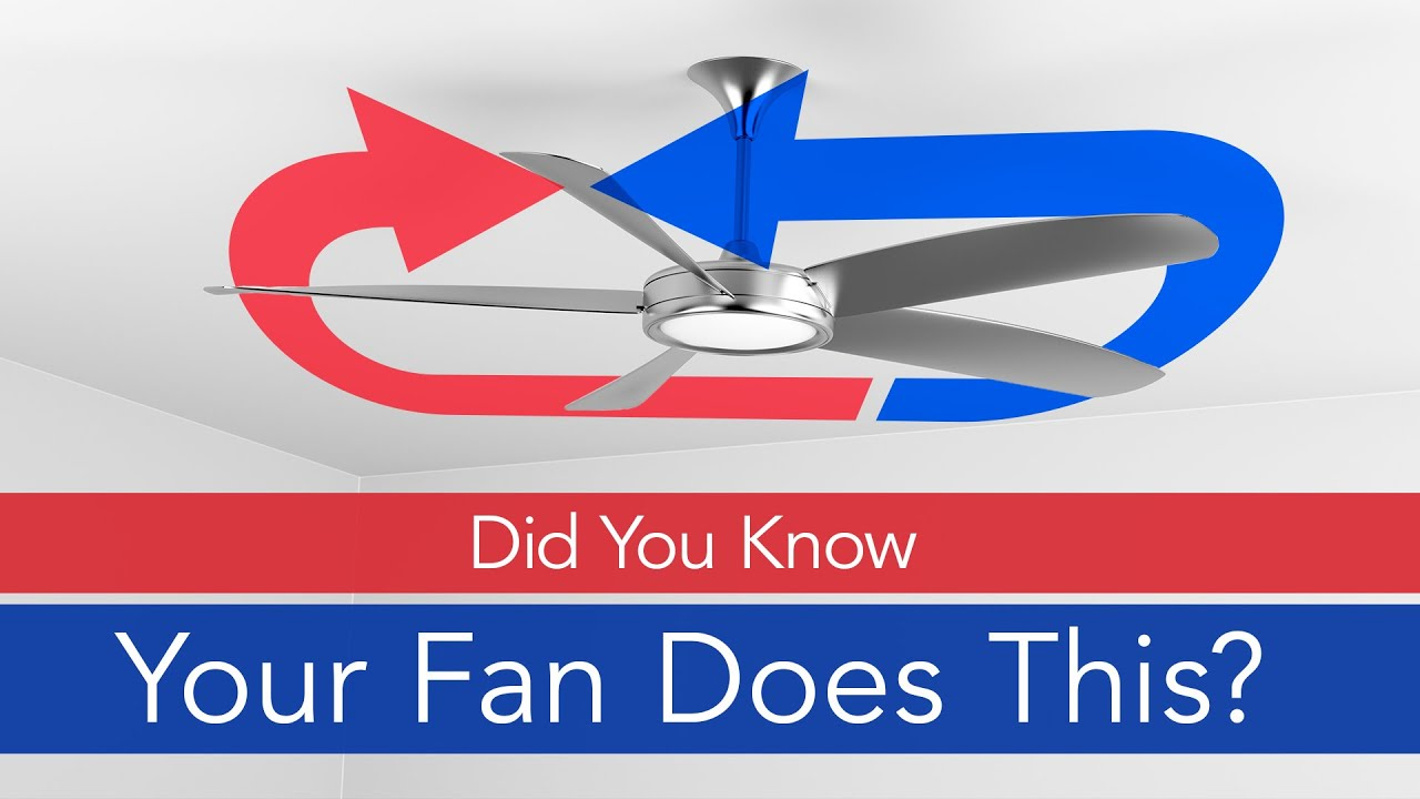 How to change the ceiling fans direction youtube aloadofball Image collections