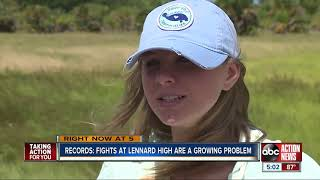 Records: Fights at Lennard HS becoming a growing problem