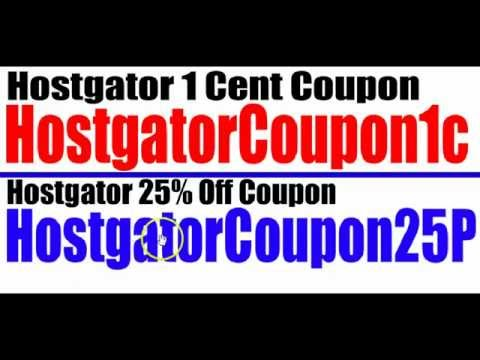 Hostgator discount coupon