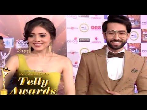 Nakuul Mehta And His Wife Jankee Parekh Interview At ITA Awards 2017