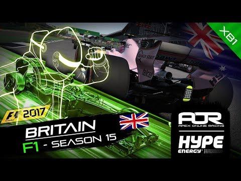 F1 2017 | AOR Hype Energy F1 Leagues | XB1 Oceania S2 | R6: British GP