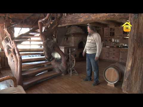 видео: Отделка дома в рустикальном стиле_2 // forumhouse