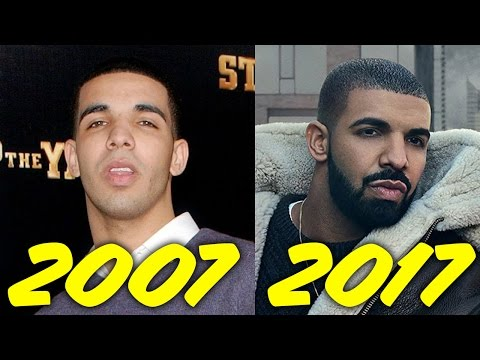 The Evolution of Drake (2007-2017)