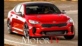 2018 KIA STINGER GT AWD 3.3 V6 TWIN TURBO 370 HP  l EXTERIOR l INTERIOR l BEAUTY SHOTS