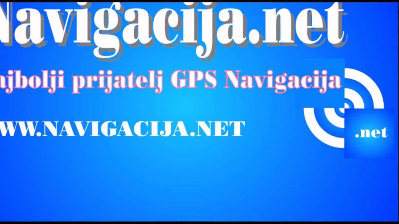 Navigacija Najnovije Navigacione Gps Mape Youtube