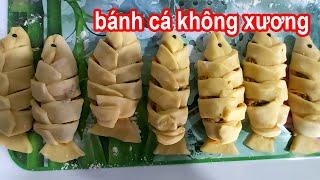 chia sẻ cách làm bánh cá không xương chiên giòn #nguyentrongkha