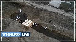 États-Unis: les enterrements en fosses communes se multiplient